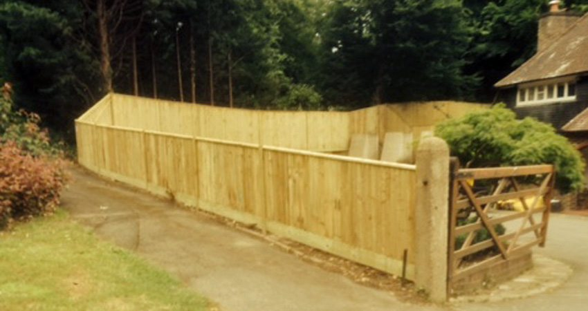 Closeboard Panel Fencing Macdonald Fencing Amp Sons