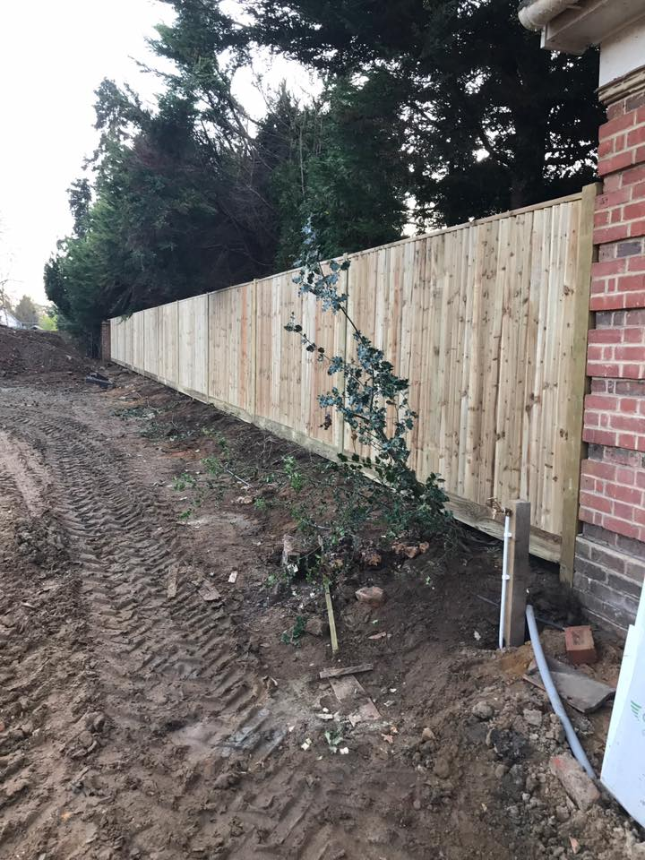 Close Boarded Fence Esher2 Macdonald Fencing Amp Sons