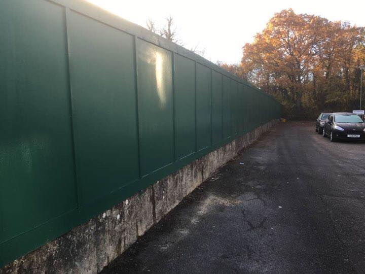 Site Hoarding Macdonald Fencing Amp Sons Fencing