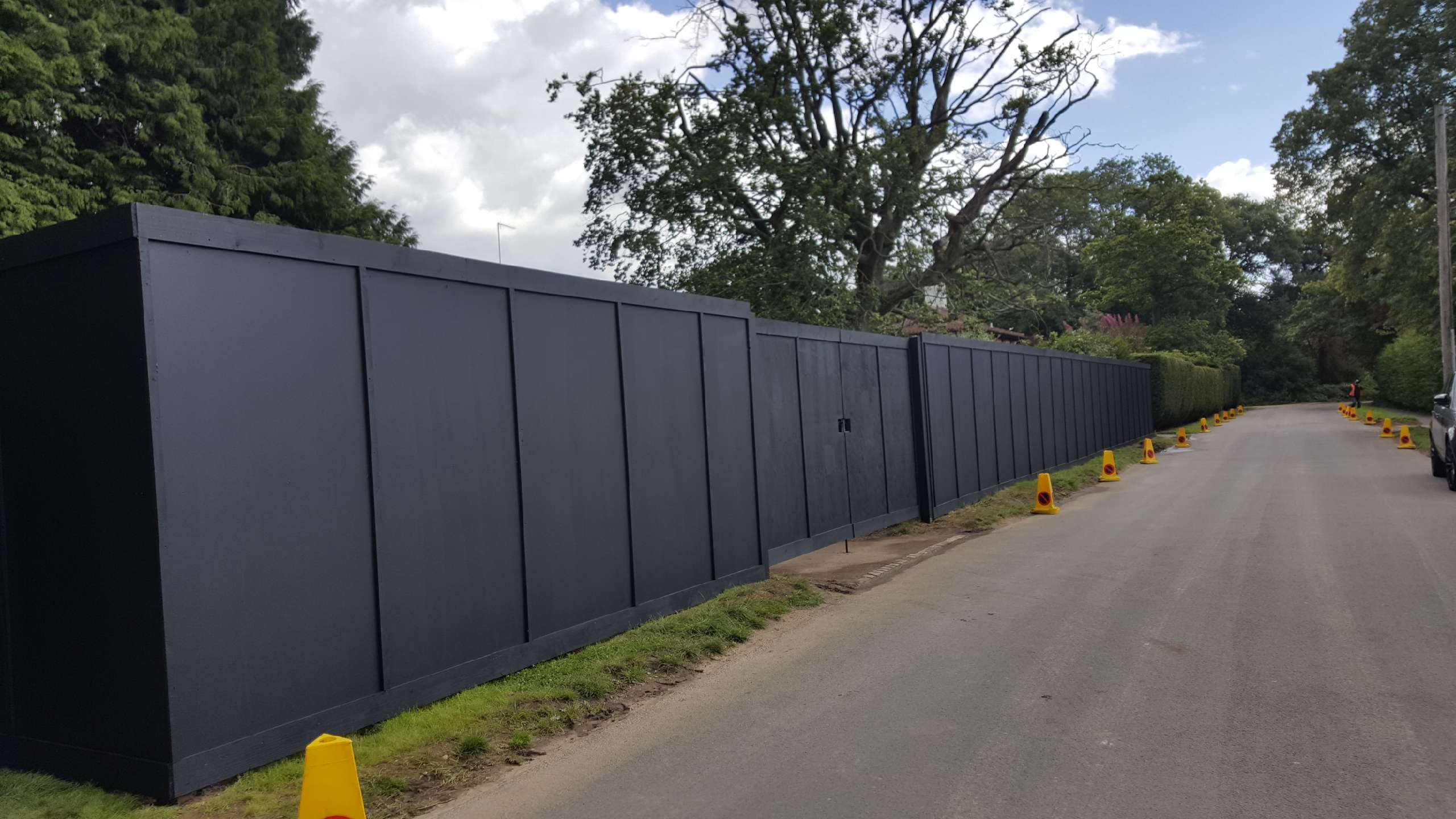 Site Hoarding 2017 Macdonald Fencing Amp Sons Fencing